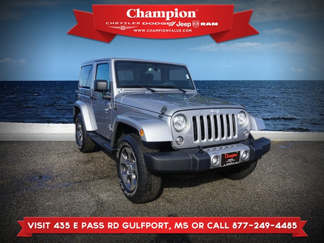 Certified Pre-Owned 2018 Jeep Wrangler Sahara 4WD