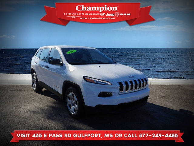 Certified Pre-Owned 2017 Jeep Cherokee Sport FWD