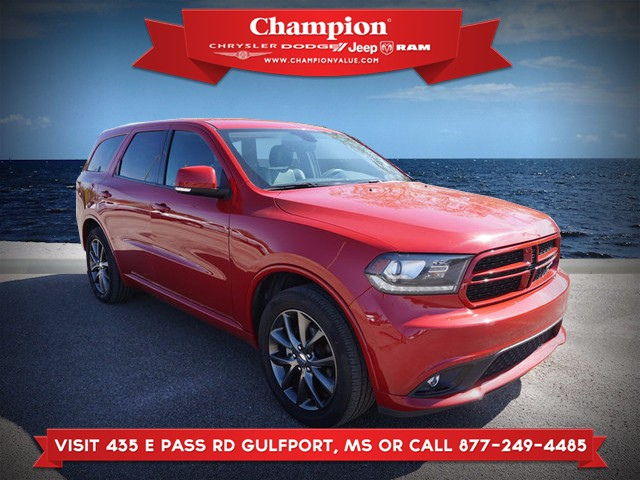 Certified Pre-Owned 2018 Dodge Durango GT RWD