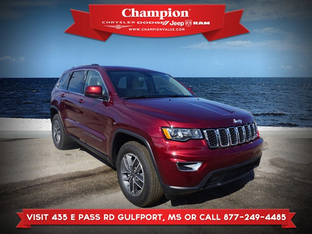 New 2019 JEEP Grand Cherokee Laredo E 2WD