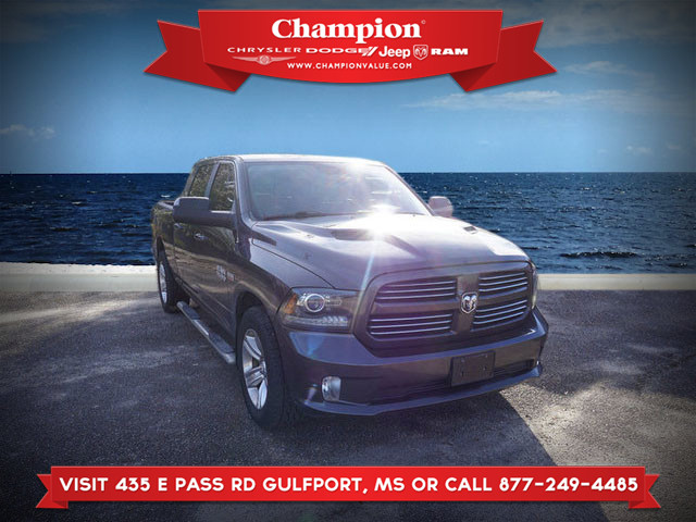 Pre-Owned 2017 Ram 1500 Sport 4WD 6.4 Box
