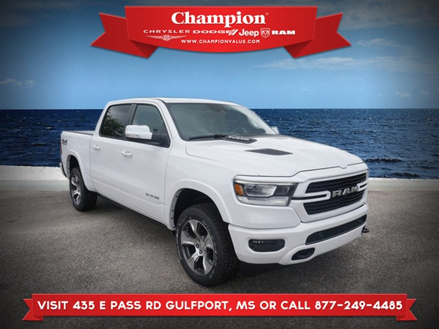 New 2019 RAM All-New 1500 Laramie 4WD 5ft7 Box
