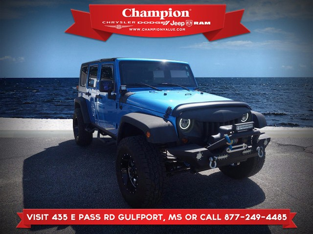 Pre-Owned 2010 Jeep Wrangler Unlimited Islander 4WD 4 Dr SUV in ...