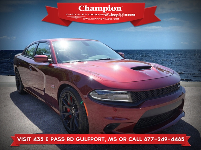 New 2018 DODGE Charger R/T Scat Pack RWD