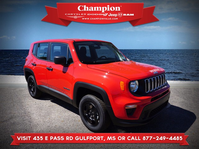 New 2019 JEEP Renegade Sport 4WD