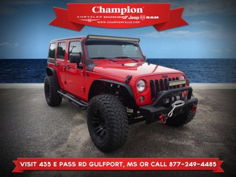 Pre-Owned 2015 Jeep Wrangler Unlimited Unlimited Sport 4WD