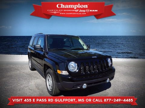 Certified Pre-Owned 2017 Jeep Patriot Sport FWD