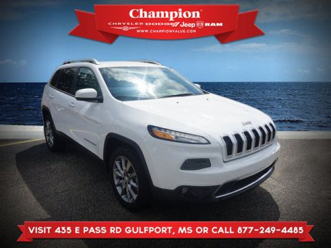 Certified Pre-Owned 2018 Jeep Cherokee Limited FWD