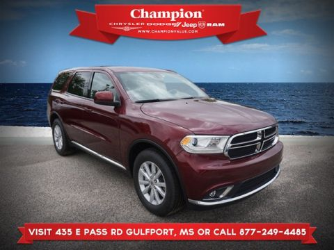 New 2019 DODGE Durango SXT RWD