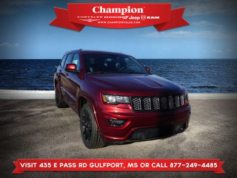 New 2019 JEEP Grand Cherokee Altitude 2WD