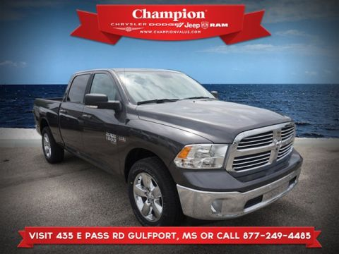 New 2019 RAM 1500 Classic Big Horn 4WD 6ft4 Box