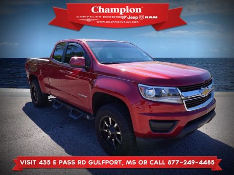 Pre-Owned 2016 Chevrolet Colorado WT 2WD 128WB