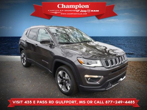 Certified Pre-Owned 2018 Jeep Compass Limited FWD
