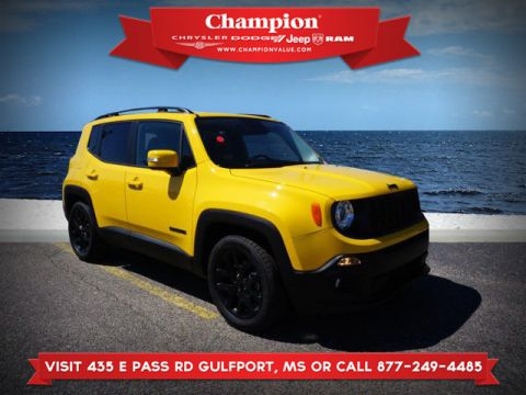 New 2017 JEEP Renegade Altitude FWD
