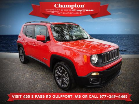 Certified Pre-Owned 2016 Jeep Renegade Latitude FWD