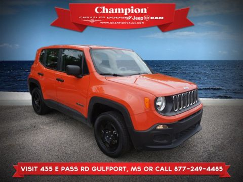Certified Pre-Owned 2018 Jeep Renegade Sport 4WD